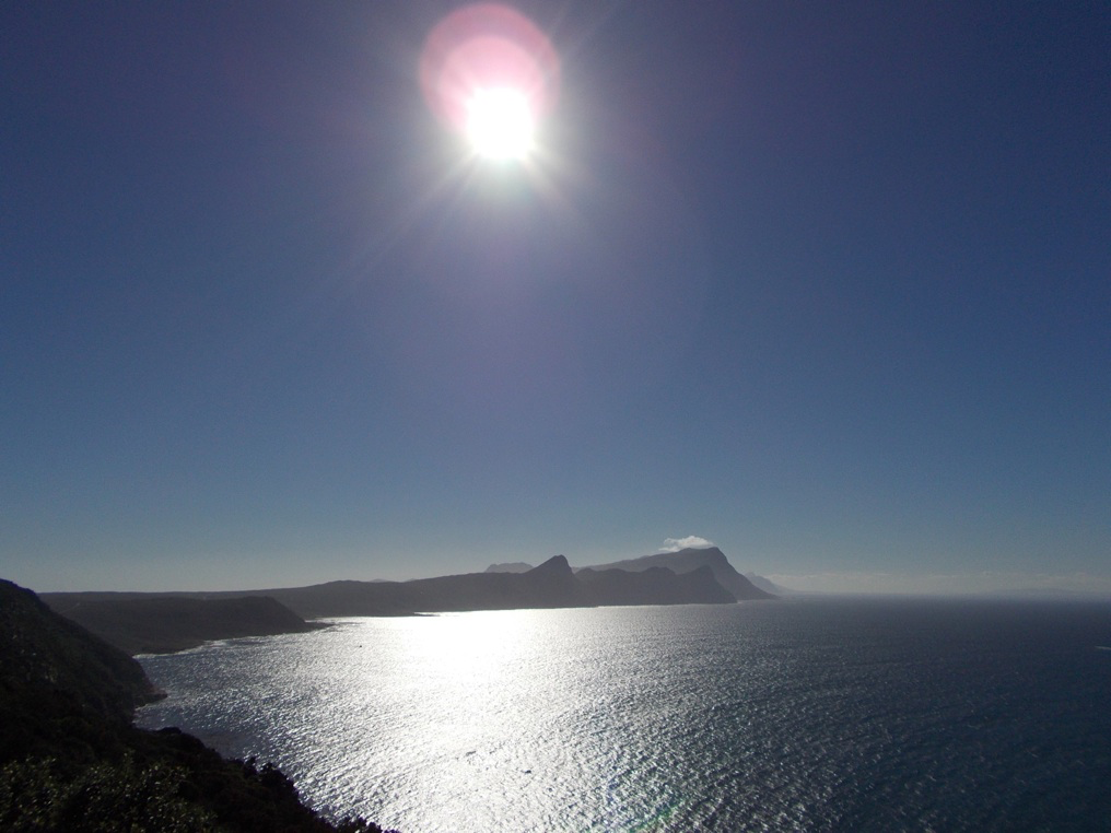 View from Cape Point in South Africa